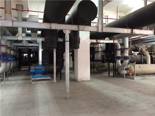 冷水机组水泵(机房)管路连接
