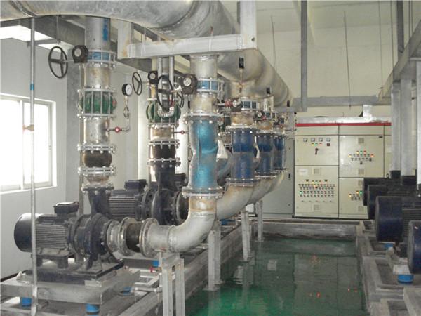 中央空调主机水泵系统